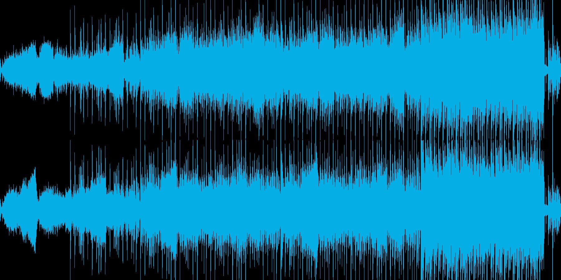 1分ループ:エレクトロディスコビートの再生済みの波形