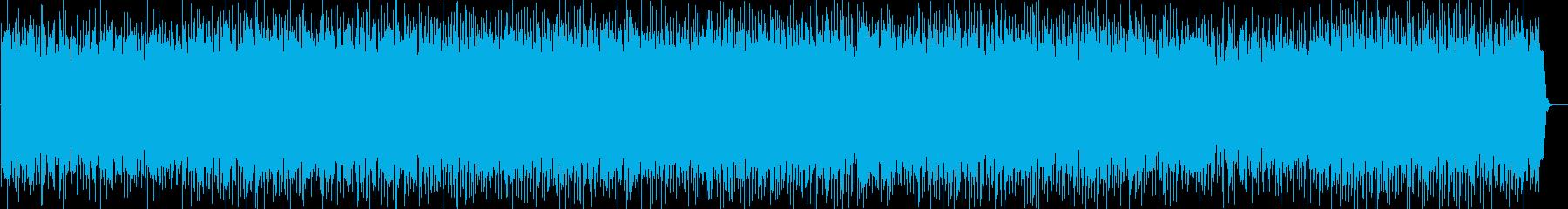 子供向けのわくわくするエレクトロニカの再生済みの波形