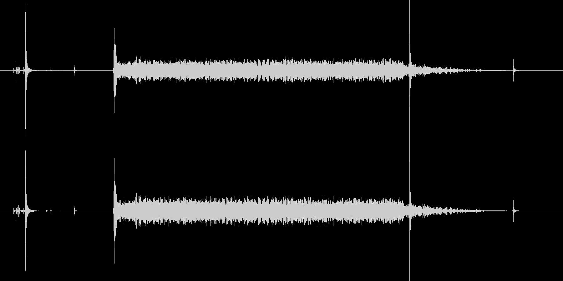 スイッチオン!ウィーン(マシーン音)の未再生の波形