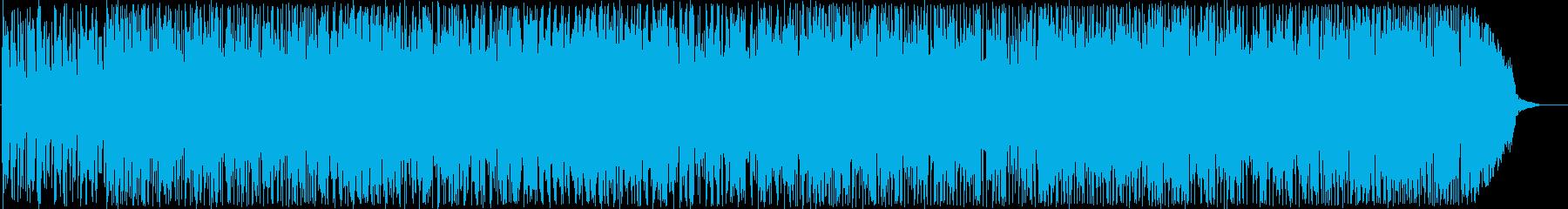 ポップで楽しい打楽器サウンドの再生済みの波形