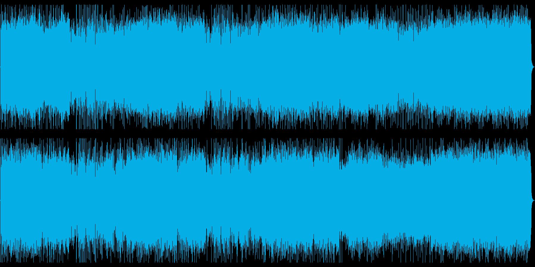ちょっと不気味さもあるハードなインストの再生済みの波形