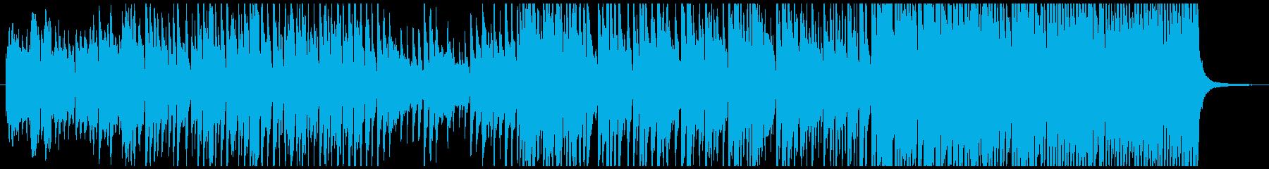 ピアノメロのノリのいい曲です!の再生済みの波形