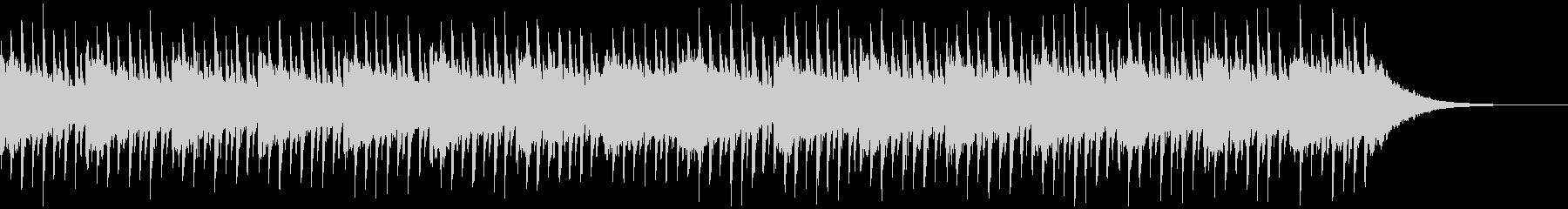 インタビューの背景(40秒)の未再生の波形