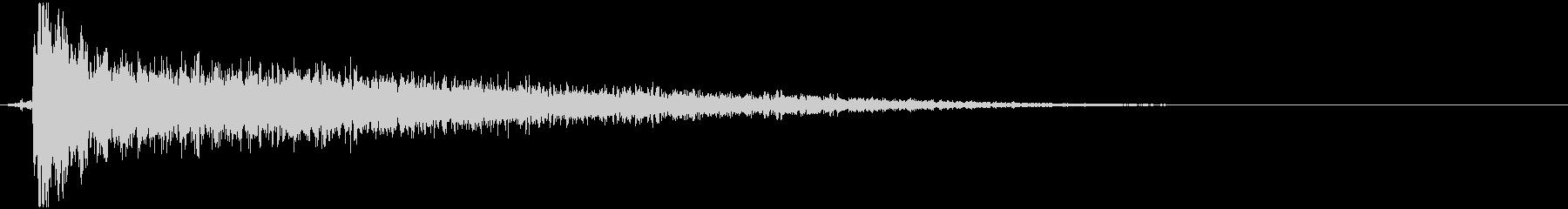 サンダー;ロングテールの巨大な拍手...の未再生の波形
