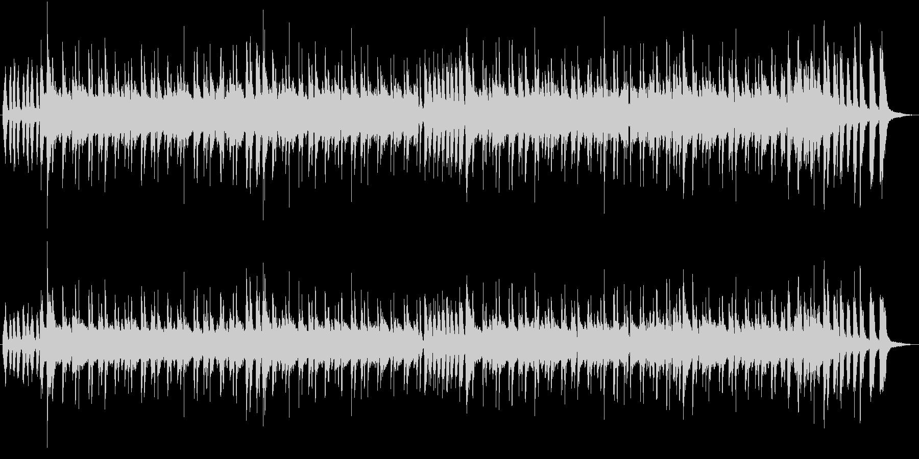 スチールパンのカリビアンなポップジングルの未再生の波形
