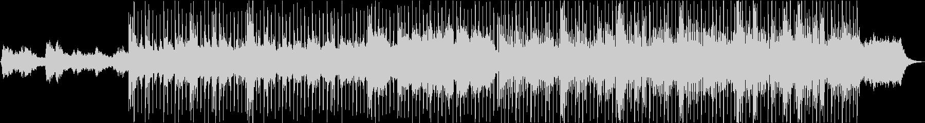 エンディングピアノバラードの未再生の波形