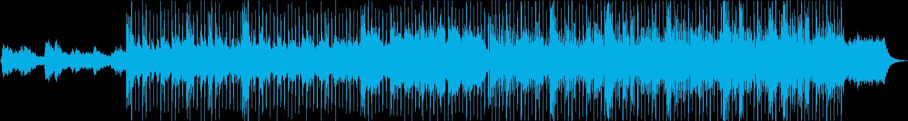 エンディングピアノバラードの再生済みの波形