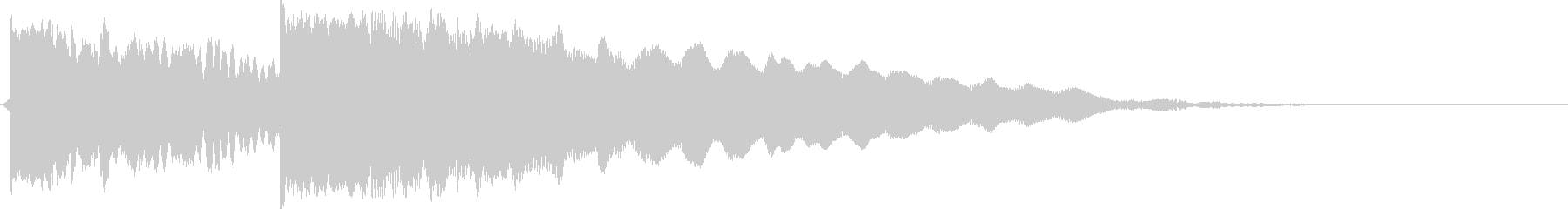 情緒的なエレキギターの未再生の波形