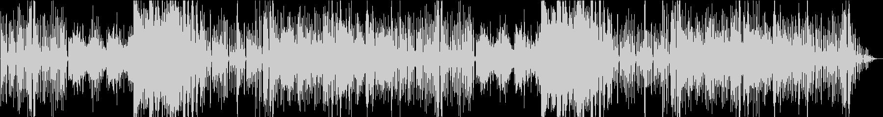 メルヘンで可愛いゴシック曲の未再生の波形