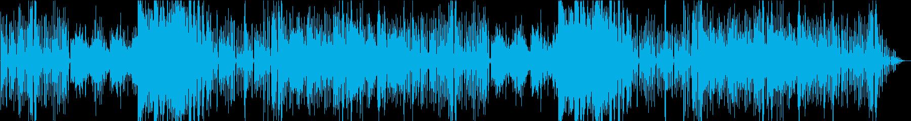 メルヘンで可愛いゴシック曲の再生済みの波形
