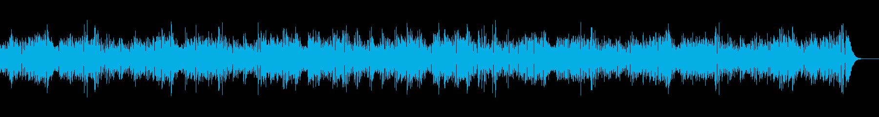 夏ボサノバおしゃれギターの再生済みの波形