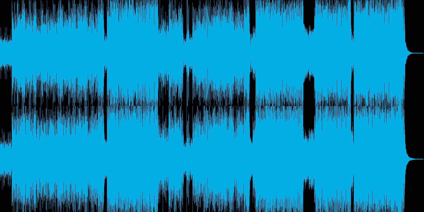 テーマパーク、夢気分なポップチューンの再生済みの波形