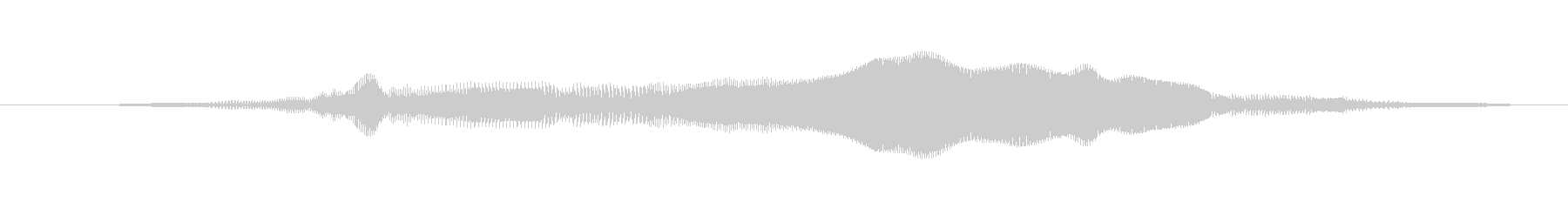 鳴き声 女性の応援はい07の未再生の波形