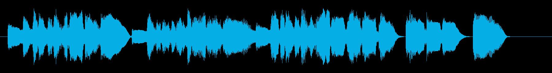 生録トロンボーン ピアノ 短いジングル の再生済みの波形