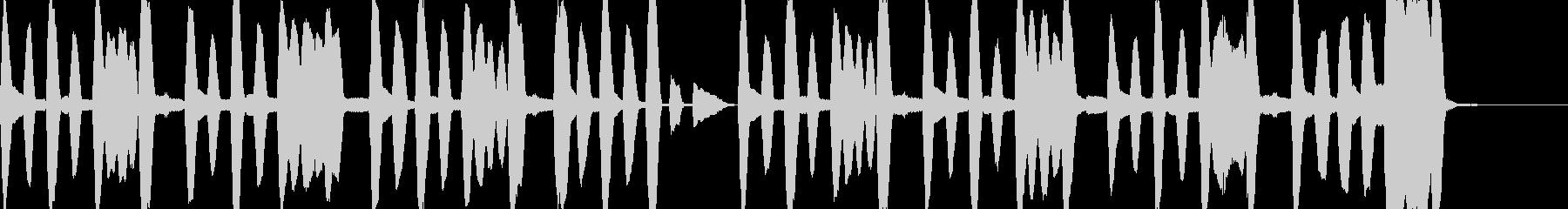 ものを作る場面などにほのぼの使えそうなBの未再生の波形