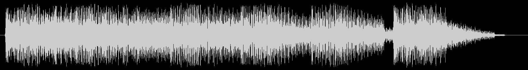 8bitなジングル 場面転換 切替の未再生の波形