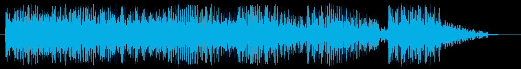 8bitなジングル 場面転換 切替の再生済みの波形