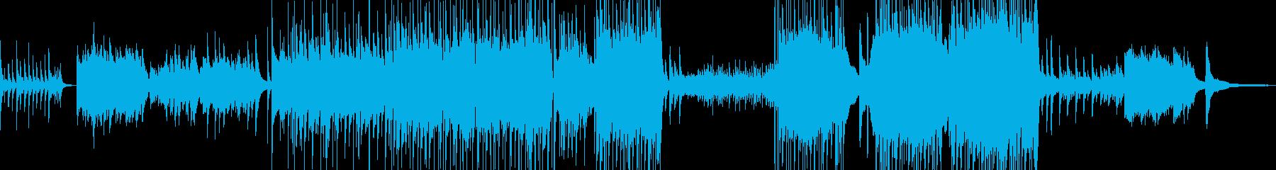 涙の場面をイメージしたピアノバラード Bの再生済みの波形