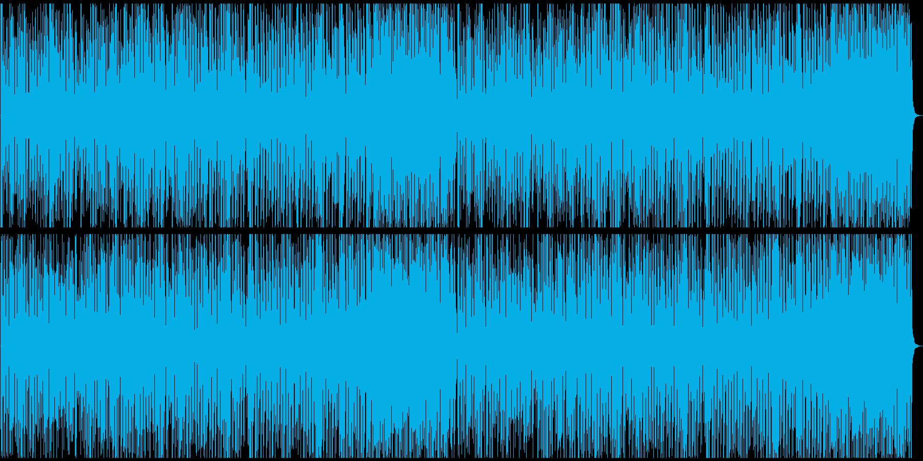 コミカルなプシージャズの再生済みの波形