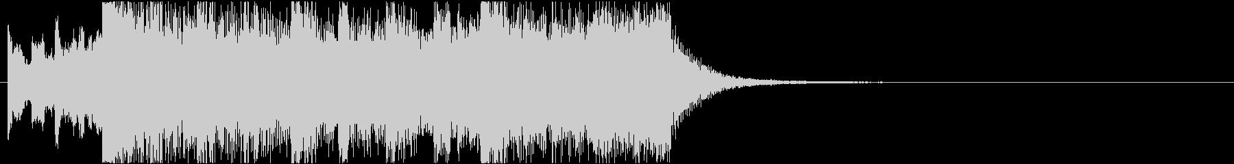 ニュースOP2 16bit44.1kHzの未再生の波形