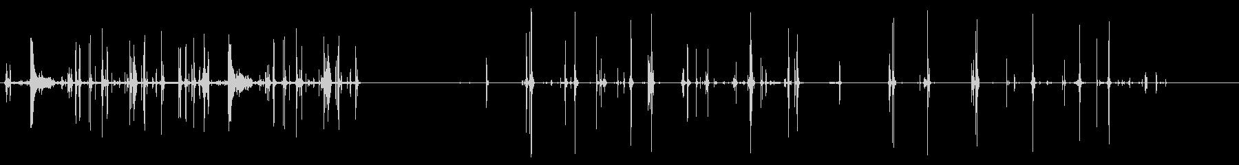 ロードシェル、プッシュボルト、ロー...の未再生の波形