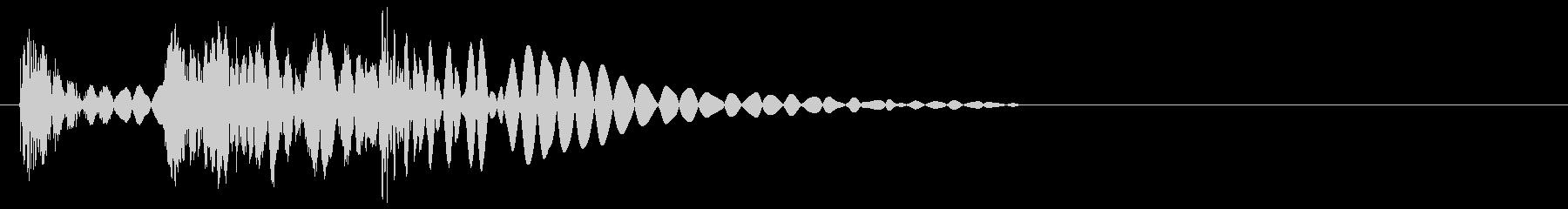 ズダゴン(ラッシュ攻撃・ダメージ)の未再生の波形