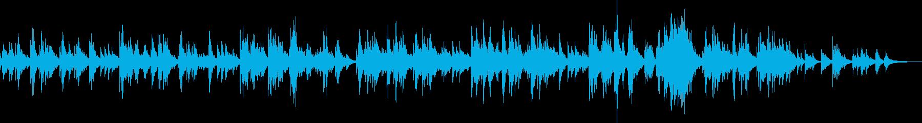 愛情(ピアノソロ・優しい・安心・BGM)の再生済みの波形