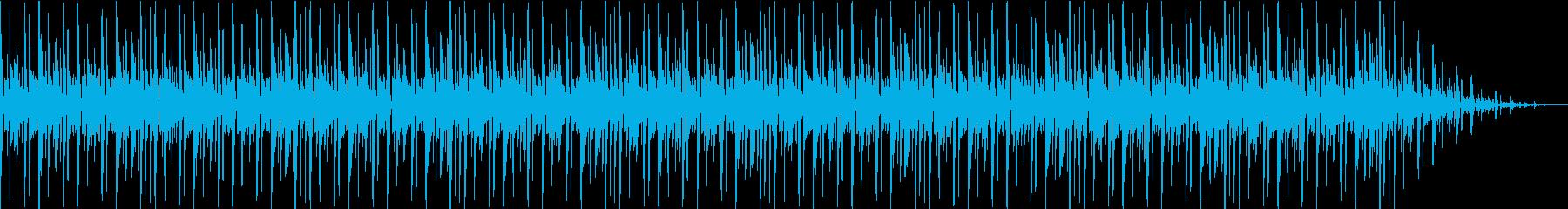 ピアノのコードが素敵なbgmの再生済みの波形