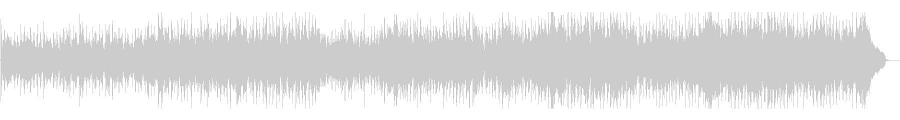 リズミカルで伝統的なフォークミュージックの未再生の波形