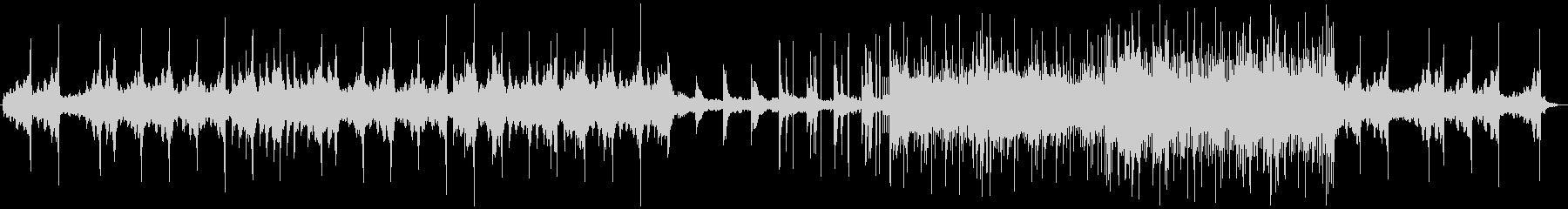 暖かみのあるピアノ・エレクトリックの未再生の波形