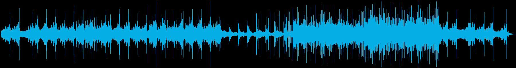 暖かみのあるピアノ・エレクトリックの再生済みの波形