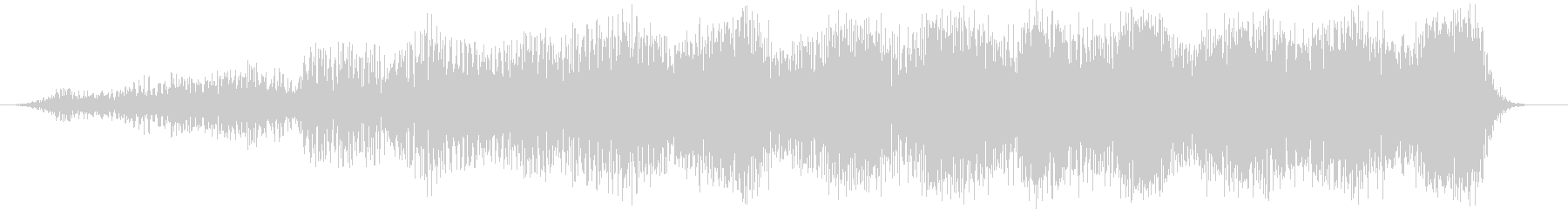 スローディープパルスラッシングパスバイの未再生の波形