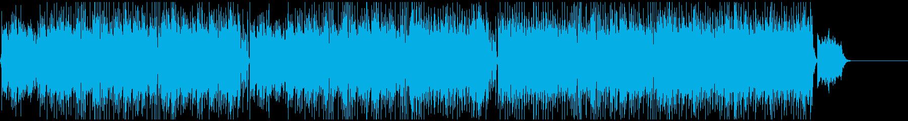爽やかなギター/ピアノ/ストリングスの再生済みの波形