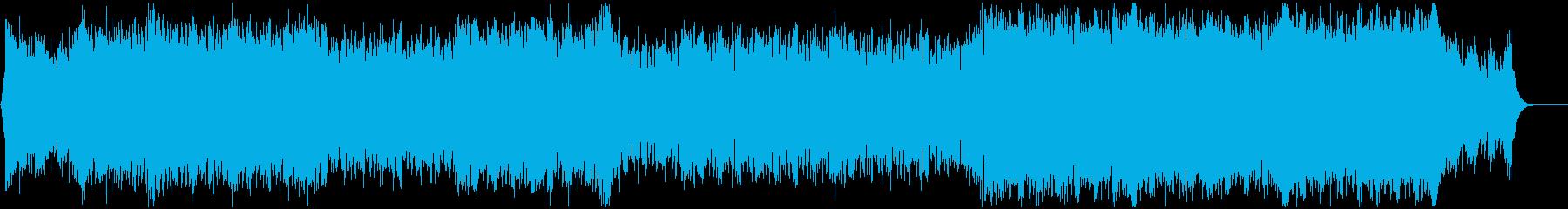 【EDM】爽やかなドラムンベース Vo無の再生済みの波形