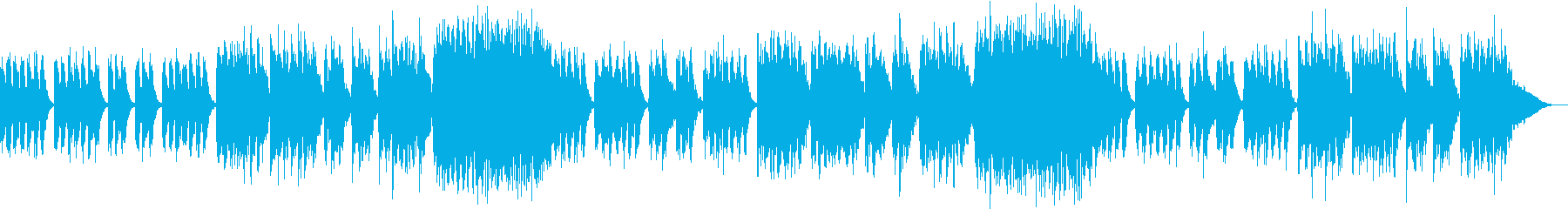やさしい寝息のような音楽で癒やされるの再生済みの波形