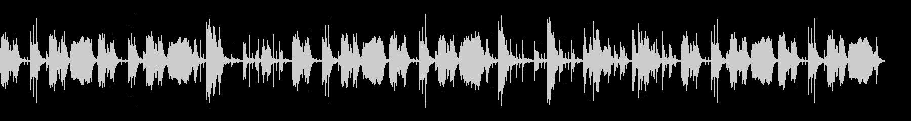 おとぼけトークBGM。の未再生の波形