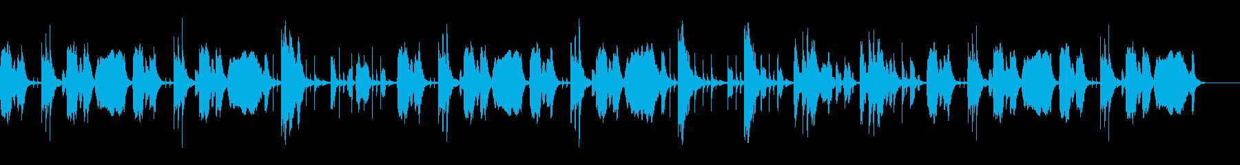 YouTube おとぼけトークBGM。の再生済みの波形