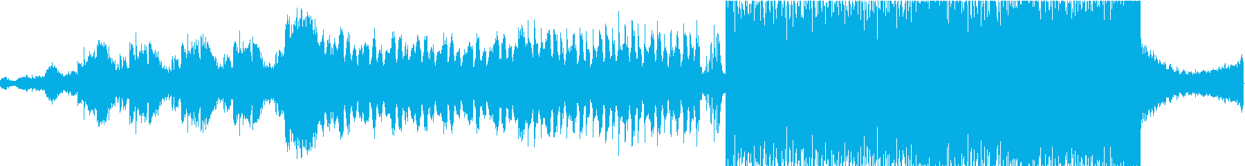 期待感の高まるライブ入場SEやCM90秒の再生済みの波形