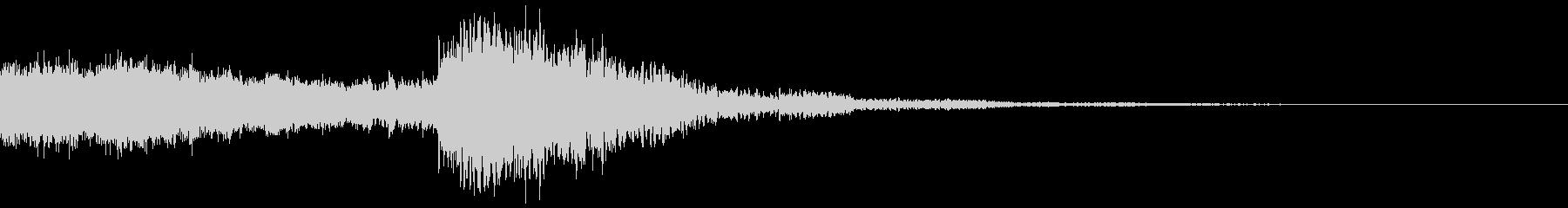 太鼓と尺八の和風インパクトジングル!14の未再生の波形