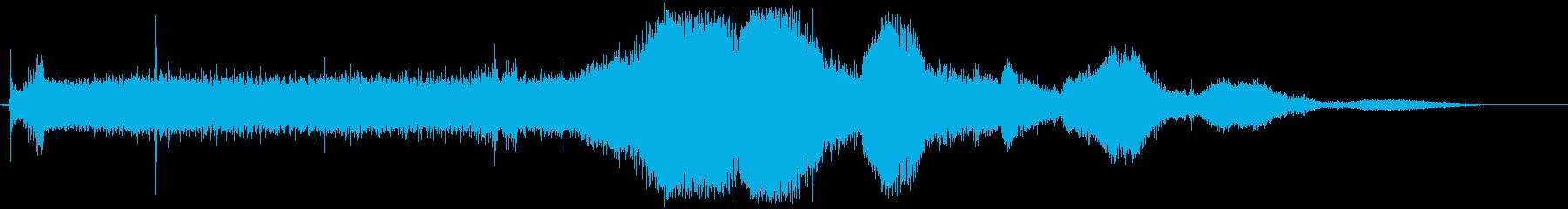 ピータービルトセミトラック:ギアシ...の再生済みの波形