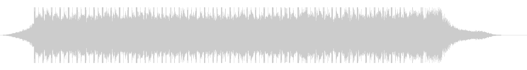 やる気(30秒)の未再生の波形