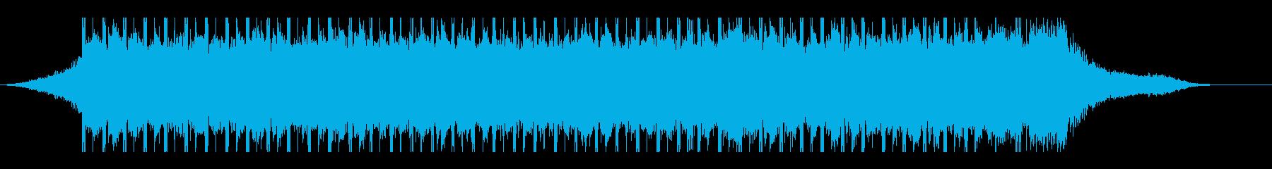 やる気(30秒)の再生済みの波形