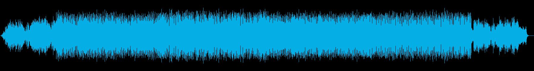 ゆったりしたメロディが感動的なバラードの再生済みの波形
