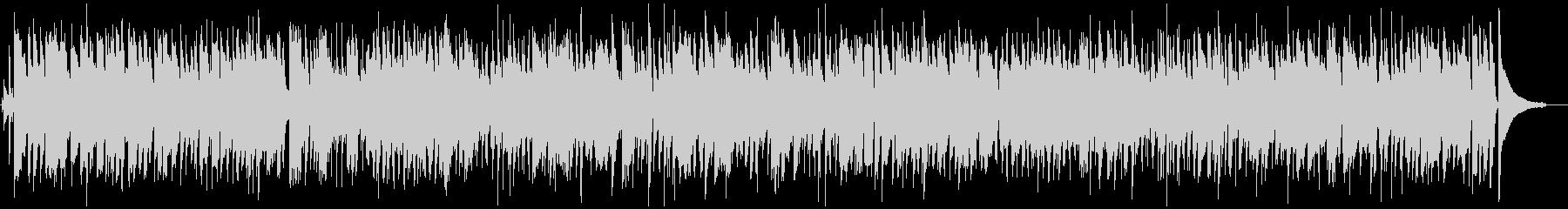 ゆったりしたジャズBGMの未再生の波形