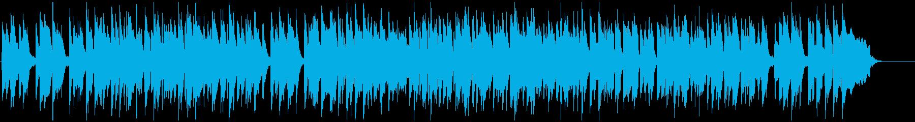 すっとぼけファンキーなリコーダー、ギャグの再生済みの波形