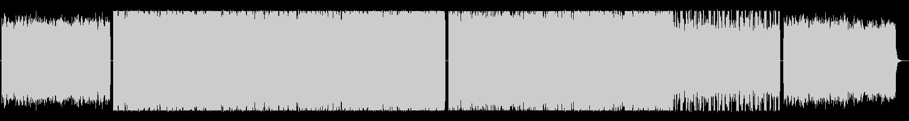 ダウナーピアノのCHILL系HIPHOPの未再生の波形
