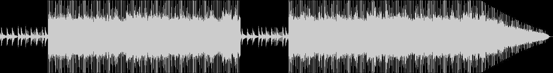 ピアノとシンセの不安で静かなLofiの未再生の波形