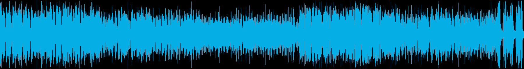 ケルト風ワイワイ賑やか生バンドの再生済みの波形