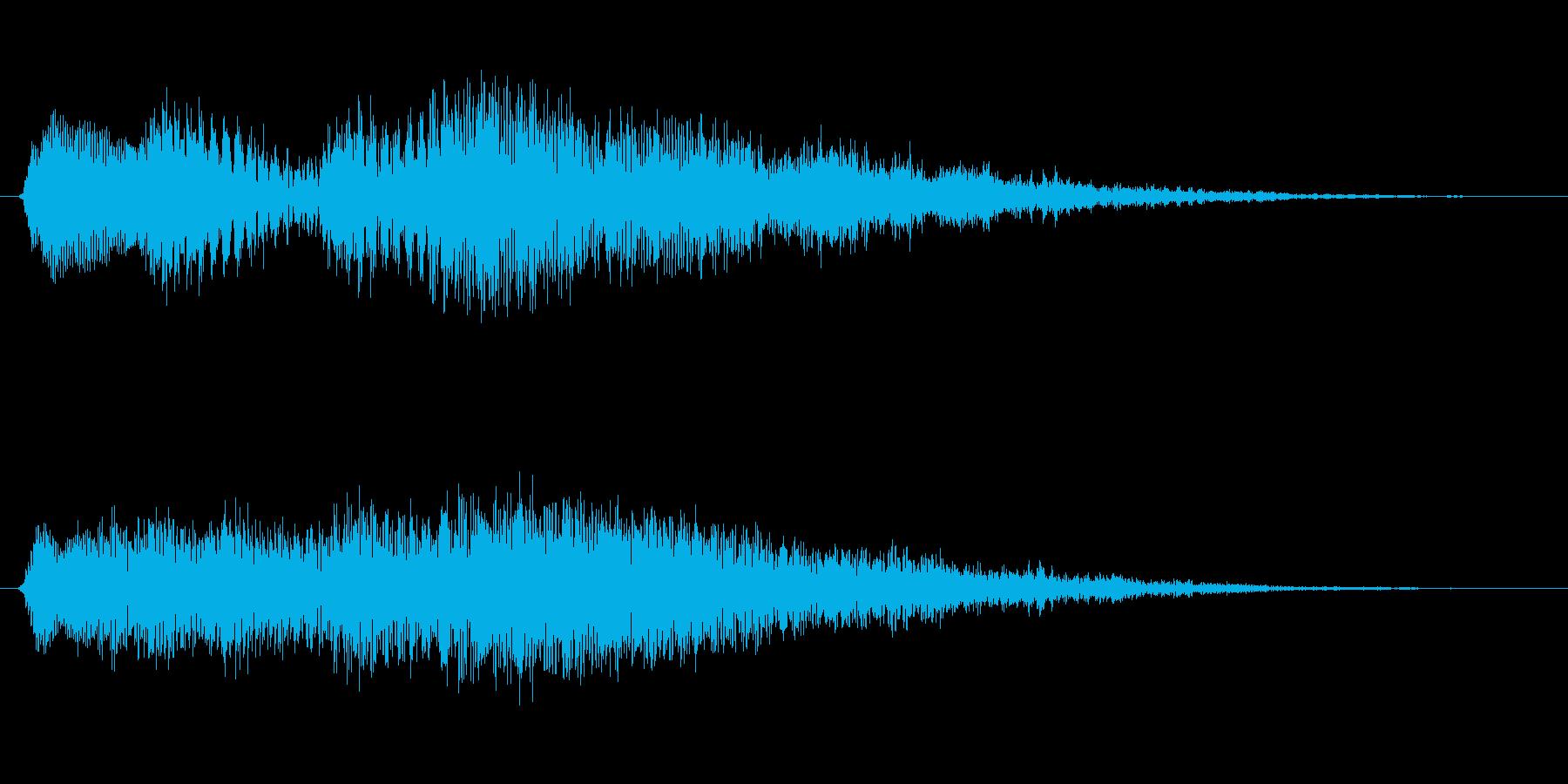 ミステリー&ホラー・発見・導入音4の再生済みの波形
