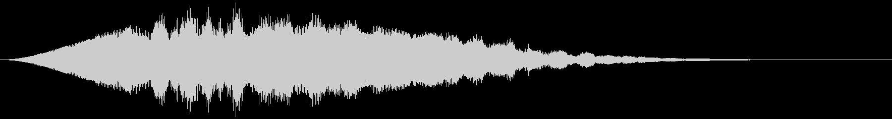 【アンビエント】ドローン_38 実験音の未再生の波形